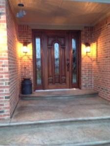 New Door & Steps